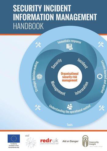 The Security Incident Information Management Handbook - RedR